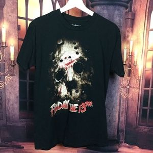 Friday the 13th Black Tee Shirt M